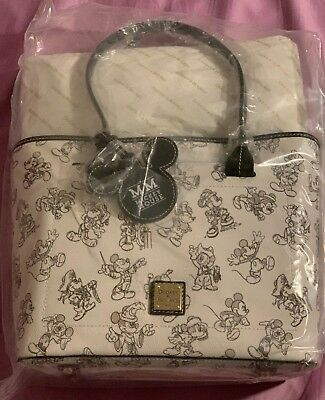 NEW! Dooney And Bourke Mickey Mouse 90th Birthday Leather TOTE NWT exclusive