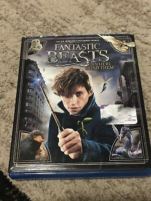 Fantastic Beasts and Where To Find Them DVD Movie Disc Only