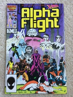 ALPHA FLIGHT #33 9.6 MIKE MIGNOLA NM+ First Appearance Lady Deathstrike
