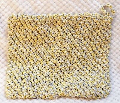 """Extra Large & Heavy Duty Hand Crocheted Pot Holder Hot Pad 8"""" x 10"""" NWOT"""
