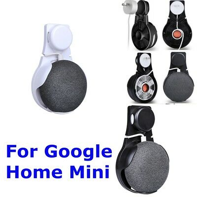 New Outlet Wall Mount Stand Hanger For Google Home Mini Voice Assistants Holder