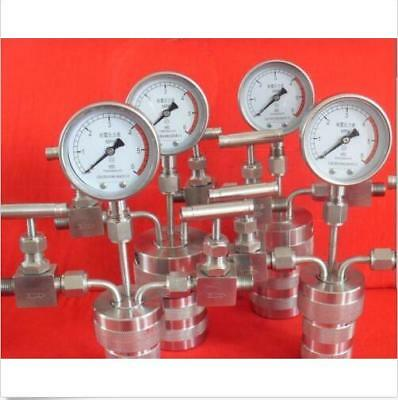 Hydrothermal synthesis Autoclave Reactor vessel +inlet outlet gauge 50ml 6Mpa d