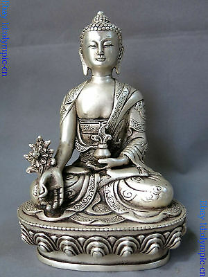 China/'s Mini Brass Copper Sculpture Pray Buddha Feng shui bell 48*30mm Low N1C4