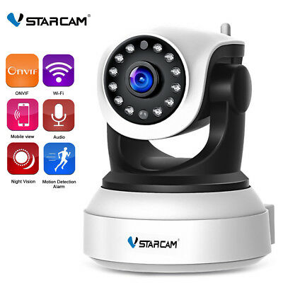 Wireless WiFi HD 720P IP Camera Home Security Network CCTV Baby Monitor Webcam