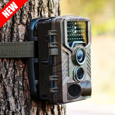 16MP 1080P HD Hunting Trail Camera IR LED Motion Activated Security Wildlife