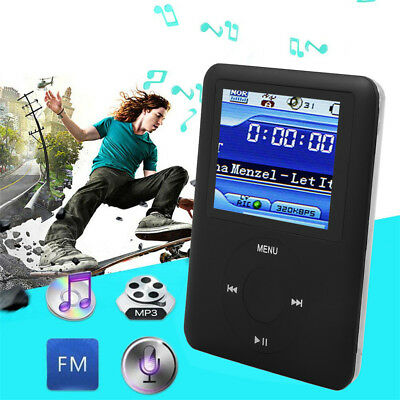 New 1.8″ LCD MP4 MP3 Music Player 16GB Media Video FM-Radio Recorder Games