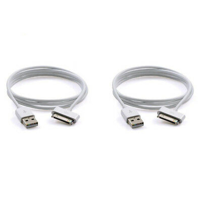 2 USB Sync Data Charger Charging Cable Cord for Apple iPad 1 2 3 1st 2nd 3rd Gen