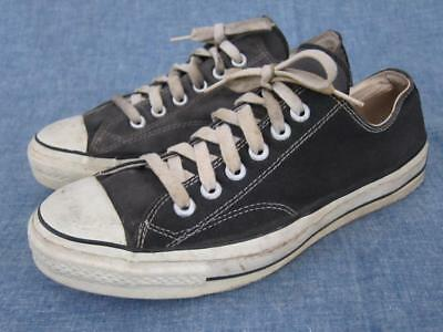 f0522fc8d1f Vintage 1960s Converse All Star Chuck Taylor Canvas Low Top Sneakers USA  Made