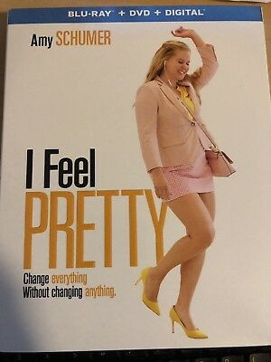 I FEEL PRETTY (BLU RAY DVD 2 DISC SET) Free Shipping