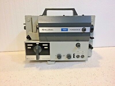 "Vintage Bell & Howell 489 Filmosound Sound Super 8 Projector ""PARTS/REPAIRS"""