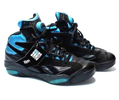 Reebok Pump Shaq Attaq OG Retro Black Azure Orlando Magic Men s Size 9.5 b1dba6a86