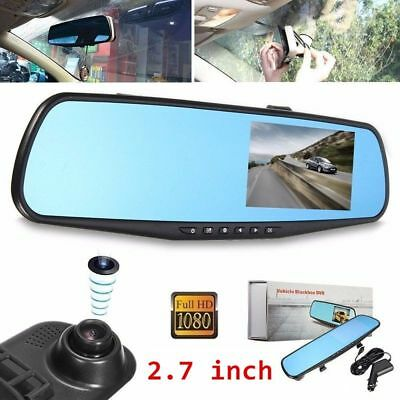 "2,7"" Autokamera Recorder KFZ DVR Überwachung Dashcam HD 1080P Video G-Sensor USB"