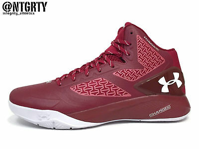 size 40 9720d 3df61 UNDER ARMOUR CLUTCHFIT Drive 2 Basketball Shoes Mens 13 Cardinal Red White  Curry