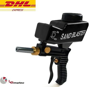 LEMATEC Sandblaster Gun By DHL SHIP Sandblasting Gun Power Tool to Remove Rust