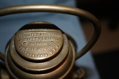 The Neverout Insulated Kerosene safety lamp (Item 85)