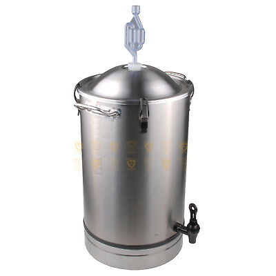 TripleJ Stainless Steel 25L Fermenter Craft Series Home Brew  FP