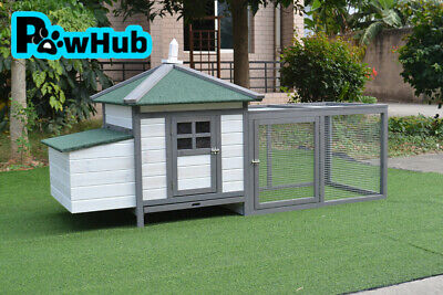 Chicken Coop Rabbit Hutch Guinea Pig Ferret Cage Hen House Nesting Room