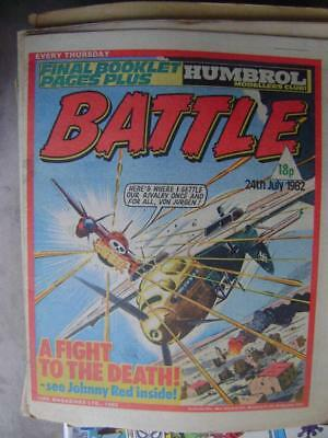 Battle 24th July 1982 (Pat Mills, Charley's War, Johnny Red)