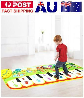 Baby Kids Musical Piano Music Toddler Carpet Play Mat Educational Electronic Toy