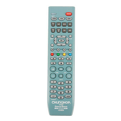 CHUNGHOP E969 8in1 Smart Universal Remote Control For TV SAT DVD CD AUX VCR