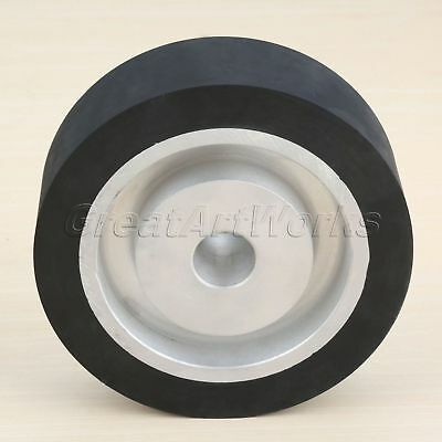 150*50mm Flat Surface Rubber Contact Wheel Belt Grinder Sander Polishing Machine