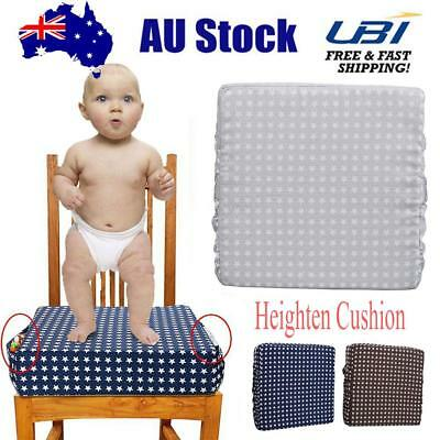 Dining Chair Heightening Cushion -Toddlers Kids Infant Baby Booster Seat Cushion