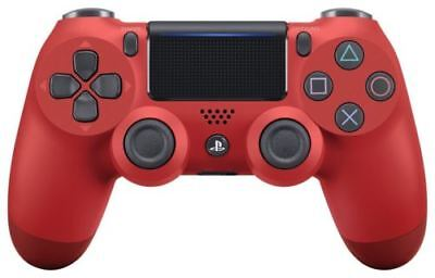 SONY Wireless controller (DUALSHOCK 4) Magma Red (CUH-ZCT2J11) New
