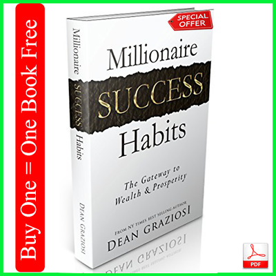 Millionaire Success Habits Way to your success (E-bOOk to wealth) Free Shipping