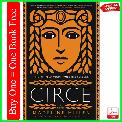 CIRCE by Madeline Miller - New York Times best seller (E-Book New) {PDF}