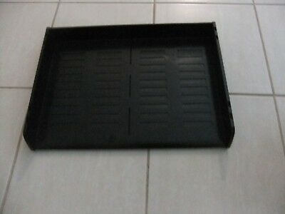 Black Plastic A3 A4 Document Tray Office Desk Top Organiser Accessories Files