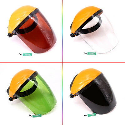 High temperature resistance transparent plexiglass protective mask welding mask