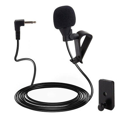 Microphone 2.5mm For Car Audio Stereo GPS DVD Bluetooth Enabled External Mic