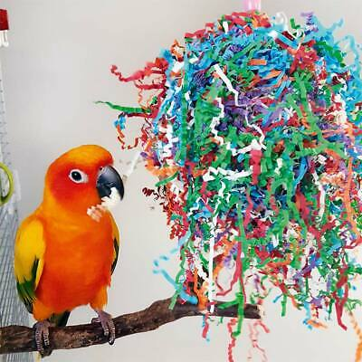 Parrot Toy for African Greys, Amazons etc - Party Paper Preener