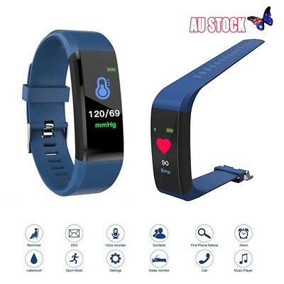 Fitness Smart Watch Activity Tracker Women/Men Kid Fitbit Android iOS Heart Rate