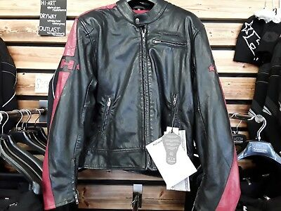 Halvarssons  leather motorcycle jacket