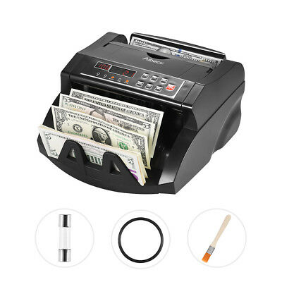 Aibecy LCD Currency Cash Bill Counter Automatic IR/DD AUD Counting Machine N0K2