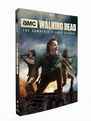 The Walking Dead Season 8(DVD, 2018, 5-Disc Set) Brand New Sealed Free shipping)
