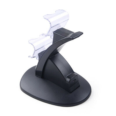 For Sony PS4 Controller LED Charger Dock Station Dual USB Fast Charging