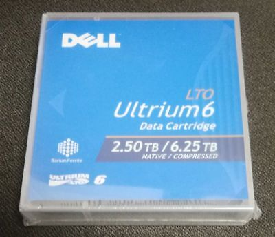 *NEW* Dell LTO Ultrium6 2.50TB Native/6.25TB Compressed Data Cartridge
