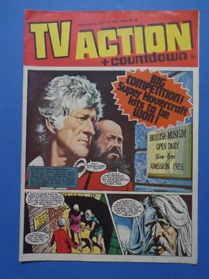Tv Action + Countdown 65 1972 Dr Who Stingray Captain Scarlet! Very Nice!