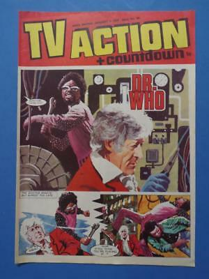 Tv Action + Countdown 99 1973 Dr Who Stingray Captain Scarlet! Very Nice!