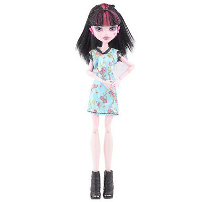 (B) - Cool Fashion Handmade Princess Dress Clothes Gown For Monster High Doll