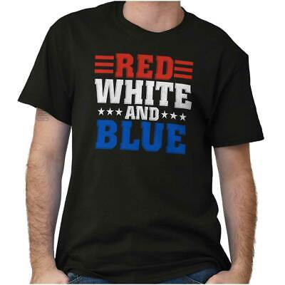 Red White And Blue Lives Matter Police Protect And Serve Ladies T Shirt Tee