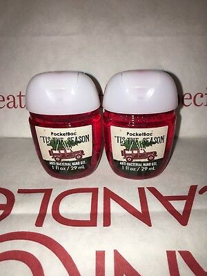 Tis the Season 2x Bath & Body Works Anti Bacterial Hand Gel RARE Scent