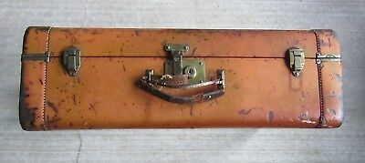 Antique Vintage Yale Hard Shell Travel Suitcase Luggage