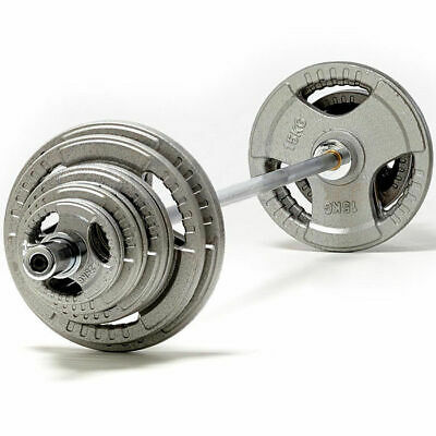 TNP Accessories Tri-Grip Cast Iron Olympic Bar Weight Disc Set-from 85kg-185kg