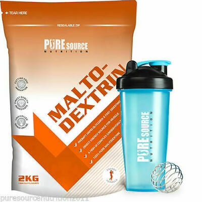 Maltodextrin Pure Carbs Carbohydrate Powder 2kg - Energy Fuel Glycogen PSN