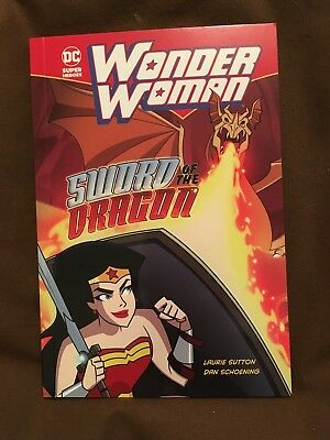 DC Super Heroes - Wonder Woman Sword of the Dragon - Brand new and no damage