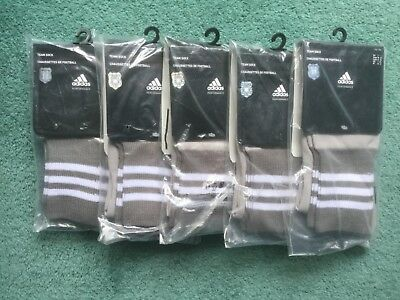 5 Pairs Besiktas Third 2013 - 2014 Football Socks - Medium Adidas BNWT 5-A-Side