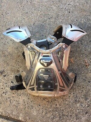 Thor Motocross Chest Protector Roost Guard